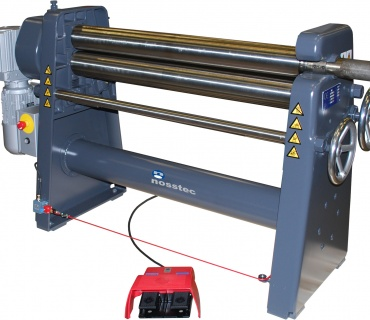 Powered Sheet Metal Rolling Machine 8266